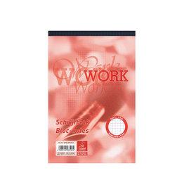 Work Work schrijfblok, ft A5, 70 g/m², 100 vel, geruit 5 mm