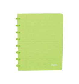 Atoma Atoma schrift Trendy ft A5, geruit 5 mm, transparant groen