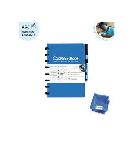 Correctbook Correctbook A5 gelijnd uitwisbaar schrift, blauw