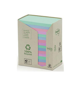 Post-it Post-it Notes gerecycleerd, 76 x 127 mm, 100 vel, 16 blokken