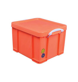 Really Useful Box Really Useful Box opbergdoos 35 liter, neon oranje