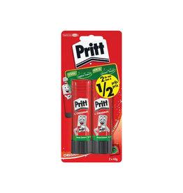 Pritt Pritt plakstift blister van 2 stuks  43g, 2de halve prijs