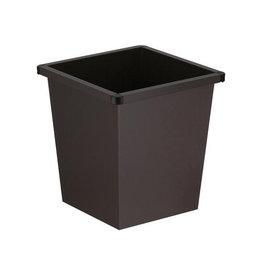 V-part V-Part papiermand, 27 liter, zwart