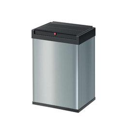 Hailo Hailo afvalbox Bigbox Swing L, 35 liter, zilver