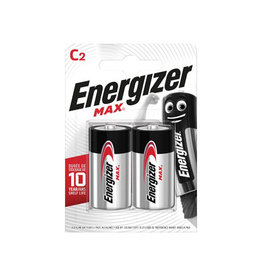 Energizer Energizer batterijen Max C, blister van 2 stuks