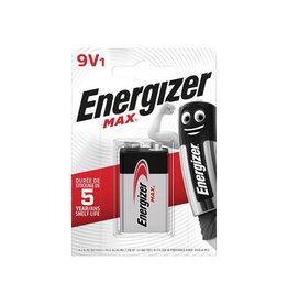 Energizer Energizer batterij Max 9V, op blister