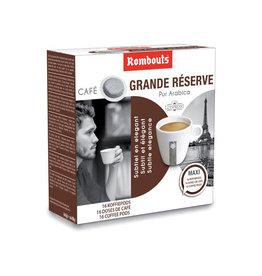 Rombouts Rombouts koffiepads voor espresso, Grande Réserve pak 16 st.