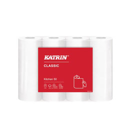 KATRIN Katrin keukenpapier Classic 2-laags 50 vel per rol, 4 rollen