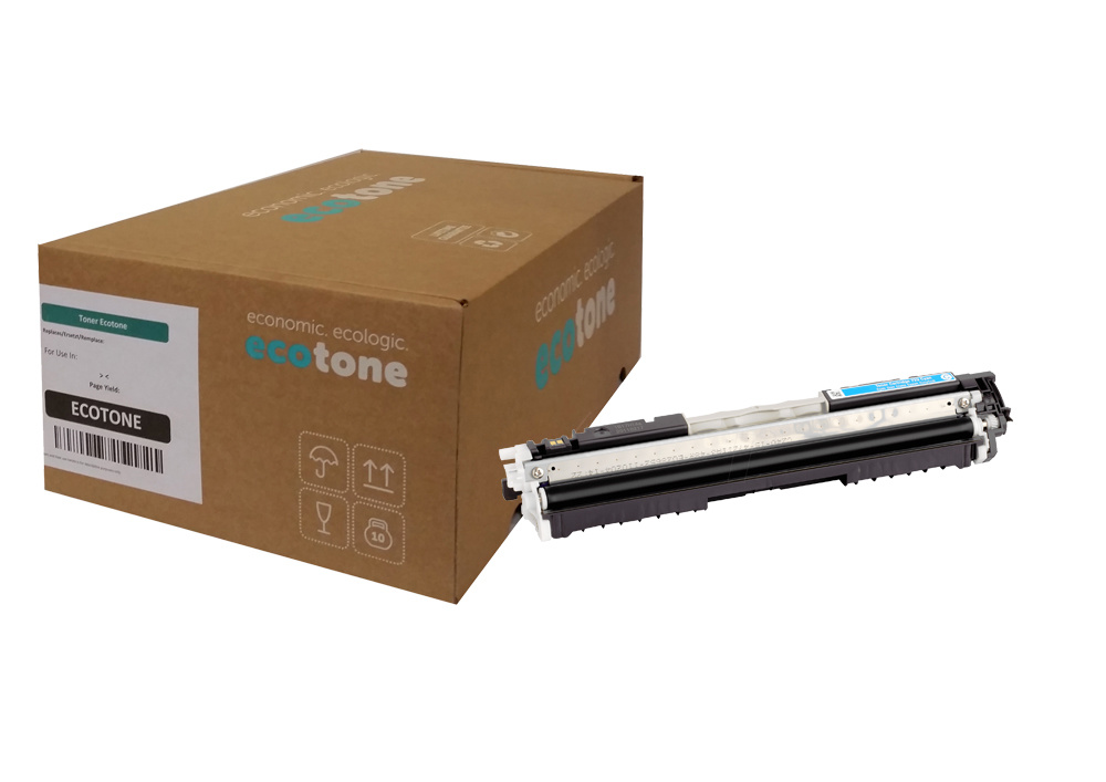 Ecotone Canon 729 (4369B002) toner cyan 1000 pages (Ecotone)