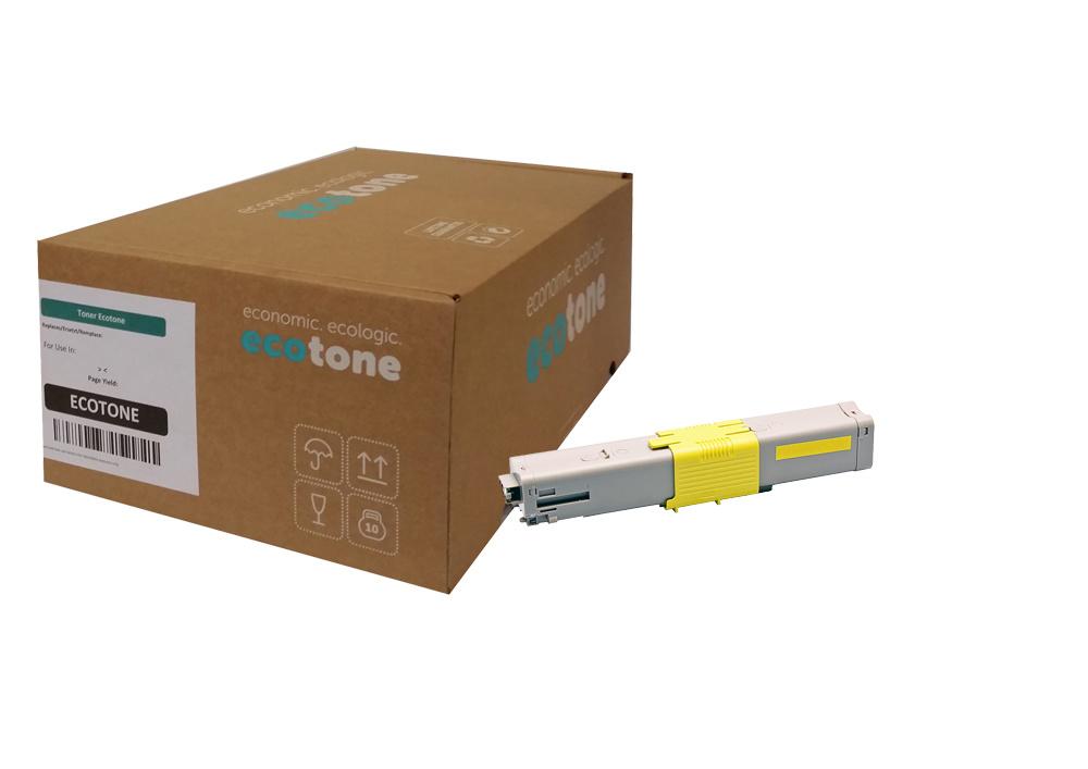 Ecotone OKI 44469740 toner yellow 5000 pages (Ecotone)
