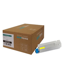 Ecotone OKI 46490401 toner yellow 1500 pages (Ecotone)