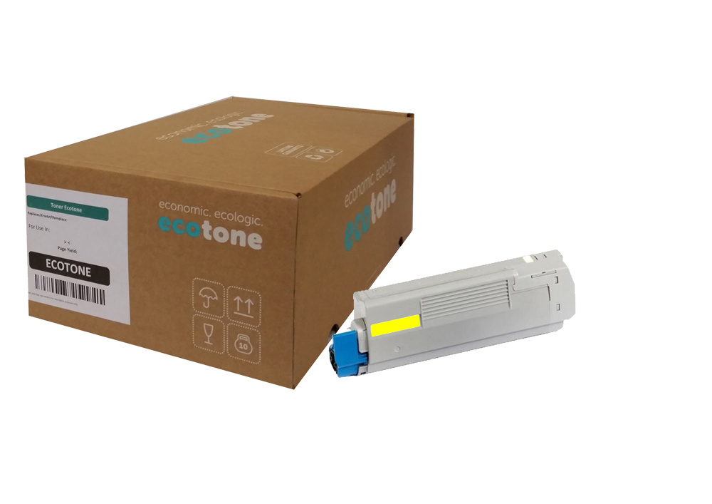 Ecotone OKI 46471101 toner yellow 7000 pages (Ecotone)