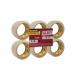 Scotch Scotch verpakkingsplakband Heavy, 50mmx66 m, transp., 6st