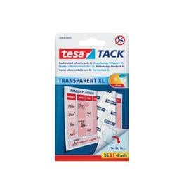 Tesa Tesa Tack XL kleefpads, blister met 36 pads