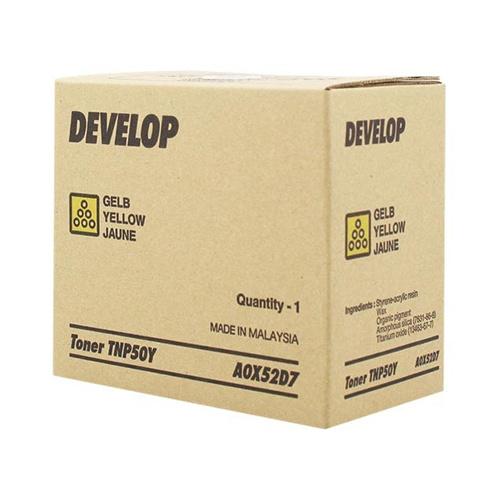 Develop Develop TNP-50Y (A0X52D7) toner yellow 5000p (original)