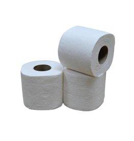 Merkloos Toiletpapier, 2-laags, 400 vellen, pak van 40 rollen