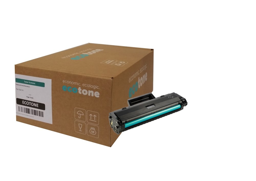 Ecotone HP 106A (W1106A) toner black 1000 pages (Ecotone)