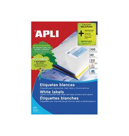 Apli Apli witte etiketten ft 70 x 35 mm (b x h), 2.400 stuks