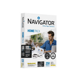Navigator Navigator Home Pack printpapier ft A4,80 g, pak van 250 vel