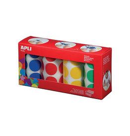 Apli Kids Apli Kids stickers XL cirkels, diameter 33 mm