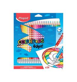 Maped Maped kleurpotlood Color'Peps Oops, 24 potloden