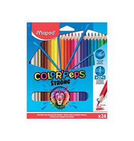 Maped Maped kleurpotlood Color'Peps Strong, 24 potloden