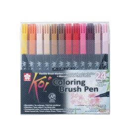 Sakura Sakura Koi brushpen Coloring Brush Pen, 24 st.