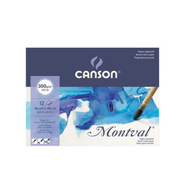 Canson Montval aquarelpapier, wit korrel 300 g/m², ft 36 x 48 cm