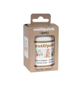 Apli Apli vernislijm Cut & Patch, flacon van 100 ml