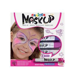 Carioca Carioca maquillagestiften Mask Up Princess, doos 3 stiften