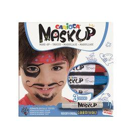 Carioca Carioca maquillagestiften Mask Up Carnival, doos 3 stiften