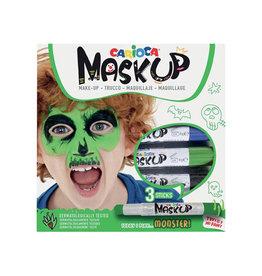 Carioca Carioca maquillagestiften Mask Up Monster, doos 3 stiften