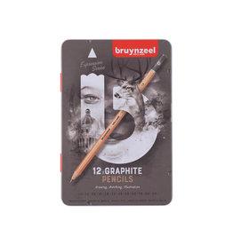 Bruynzeel Bruynzeel grafietpotlood Expression, doos van 12 stuks