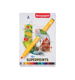 Bruynzeel Bruynzeel viltstift Expression, doos van 10 stuks
