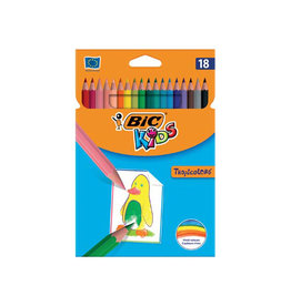 Bic Kids Bic Kids kleurpotlood Tropicolors, etui van 18 stuks