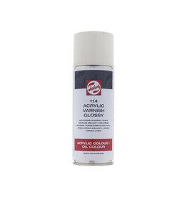 Talens Talens acrylvernis glanzend, spray van 400 ml