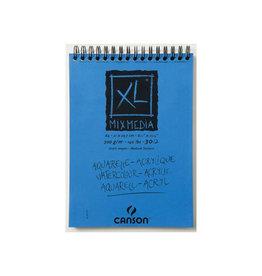 Canson Canson tekenblok XL Mix Media 300 g/m² ft A4, blok 30 vellen