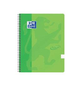 Oxford Oxford Touch spiraalblok, ft A4, 140 bladzijden, lime groen