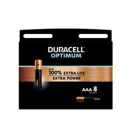 Duracell Duracell batterij Optimum AAA, blister van 8 stuks
