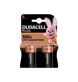 Duracell Duracell batterij Plus Power C, blister van 2 stuks