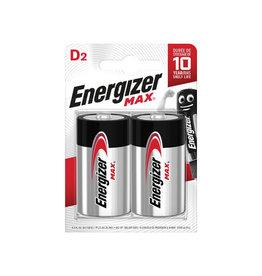 Energizer Energizer batterijen Max D, blister van 2 stuks