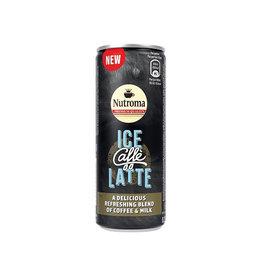 Nutroma Nutroma Ice Caffè Latte, blik van 25 cl, pak 12 stuks