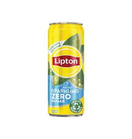 Lipton Ice Tea Lipton Ice Tea Zero frisdrank, sleek 33 cl, 24 stuks