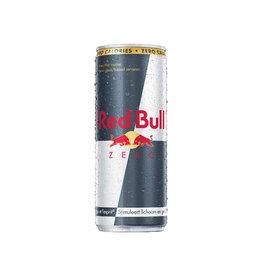 Red Bull Red Bull energiedrank, zero, blik van 25 cl, pak van 4 stuks