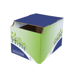 Bankers Box Bankers Box Prullenbak, FSC gecertificeerd karton