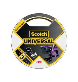Scotch Scotch ducttape Universal, ft 48 mm x 10 m, zwart