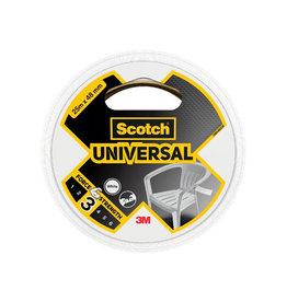 Scotch Scotch ducttape Universal, ft 48 mm x 25 m, wit