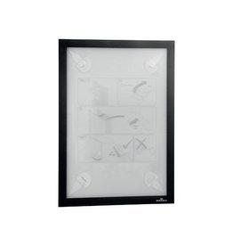 Durable Durable Duraframe Wallpaper zelfklevend kader A4, zwart