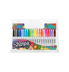 Sharpie Sharpie permanente marker, 20 st. in geassorteerde kl.