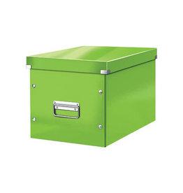 Leitz Leitz Click & Store kubus grote opbergdoos, groen